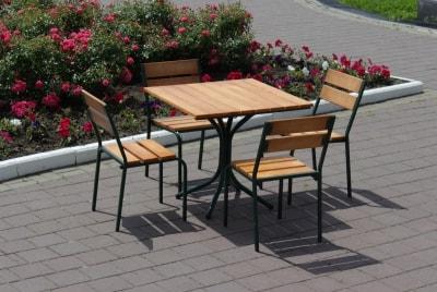 купить комплект мебели для кафе деревянный