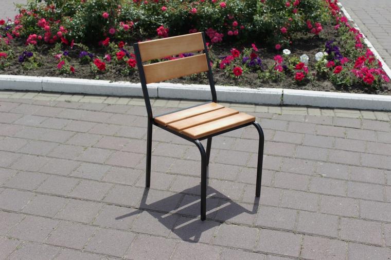 купить стул на металлическом каркасе